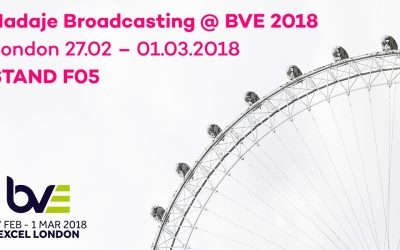Nadaje Broadcasting to showcase audio and video live streaming solutions at BVE 2018